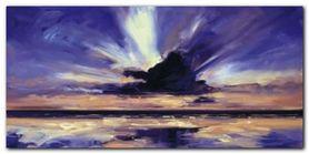 Evening Sky II plakat obraz 100x50cm