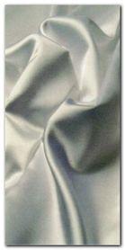 White Satin plakat obraz 50x100cm