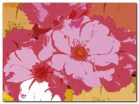 Petal Composition I plakat obraz 80x60cm
