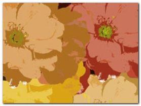 Petal Composition II plakat obraz 80x60cm