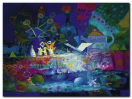 Dreams Are Real plakat obraz 80x60cm (1)