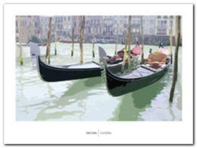 Gondolas plakat obraz 80x60cm