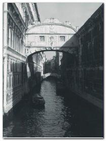 Bridge Of Sighs plakat obraz 60x80cm