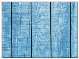 Blue Wall plakat obraz 80x60cm