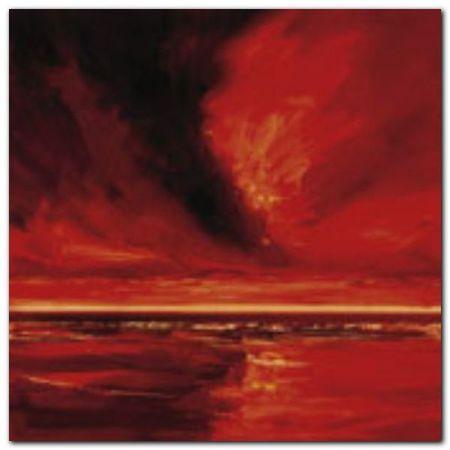 Red Night 1 plakat obraz 50x50cm (1)