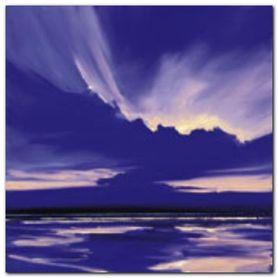 Blue Night 1 plakat obraz 50x50cm