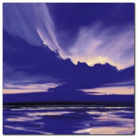 Blue Night 1 plakat obraz 50x50cm (1)