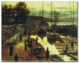 Święto Trąbek, 1884 plakat obraz 30x24cm