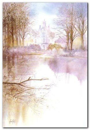 Romantic Flandern I plakat obraz 45x65cm (1)