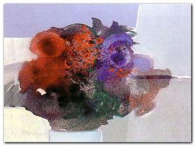 Blumen I plakat obraz 60x45cm
