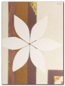 Crackled Flower plakat obraz 30x40cm