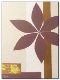Chocolate Flower plakat obraz 30x40cm
