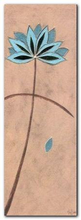 Lotus Stem plakat obraz 13x35cm (1)