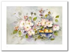 Apple Blossome plakat obraz 80x60cm