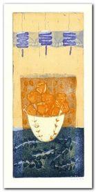 Blue Lantern plakat obraz 35x70cm