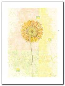 Sunflower plakat obraz 60x80cm