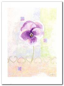 Violet plakat obraz 60x80cm