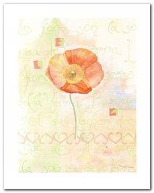 Poppies plakat obraz 40x50cm