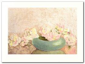 Rose Fountain plakat obraz 80x60cm