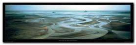 Mont Saint-Michel plakat obraz 95x33cm