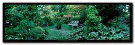 Les Jardins plakat obraz 95x33cm