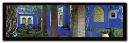 Jardin Majorelle plakat obraz 95x33cm (1)