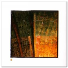 Etraves III plakat obraz 38x38cm
