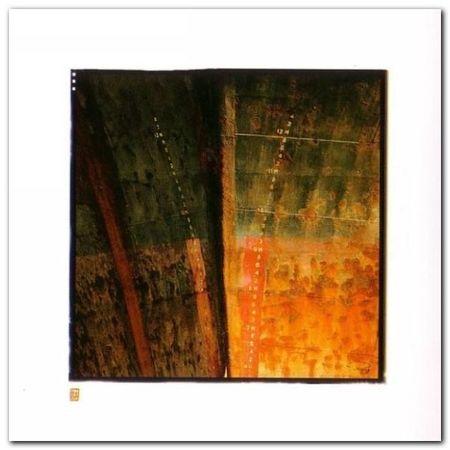 Etraves III plakat obraz 38x38cm (1)