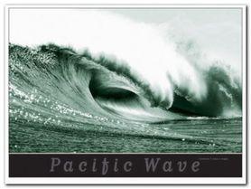 Pacific Wave plakat obraz 80x60cm