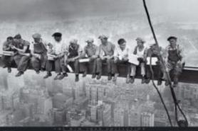 NYC MEN ON GIRDER plakat 91x61cm
