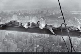 ASLEEP ON GIRDER plakat 91x61cm