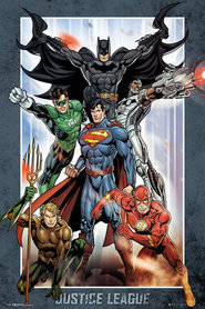 JUSTICE LEAGUE plakat 61x91cm