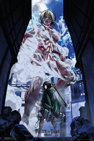 ATTAK OF TITAN plakat 61x91cm