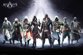 ASSASSINS CREED plakat 91x61cm