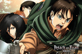 ATTACK ON TITAN plakat 91x61cm