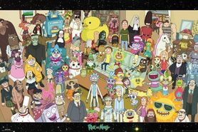 RICK AND MORTY plakat 91x61cm