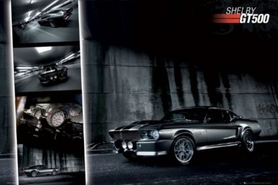 FORD SHELBY GT500 plakat 91x61cm