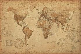 OLD MAP plakat 91x61cm