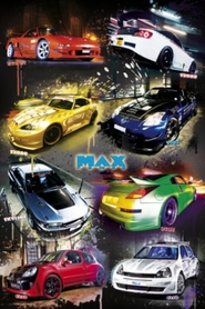 MAX POWER PERFORMANCE plakat 61x91cm
