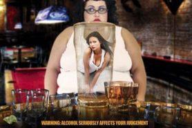 ALCOHOL WARNING plakat 91x61cm