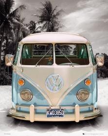 VW CALIFORNIAN CAMPER plakat 40x50cm