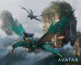 AVATAR FLYING plakat 50x40cm