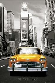 NEW YORK TAXI plakat 61x91cm