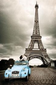 PARIS, ROMANCE plakat 61x91cm