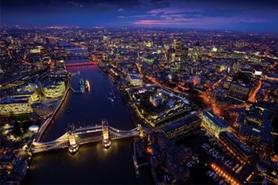 LONDON AERIA plakat 91x61cm