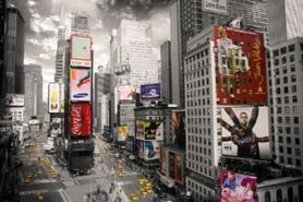 NEW YORK TIMES SQUARE plakat 91x61cm