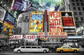 NEW YORK plakat 91x61cm