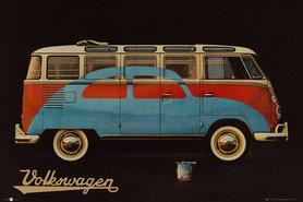 VW CAMPER plakat 91x61cm