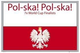 POLAND POL-SKA plakat 91x61cm