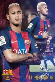 BARCELONA NEYMAR COLLAGE plakat 61x91cm